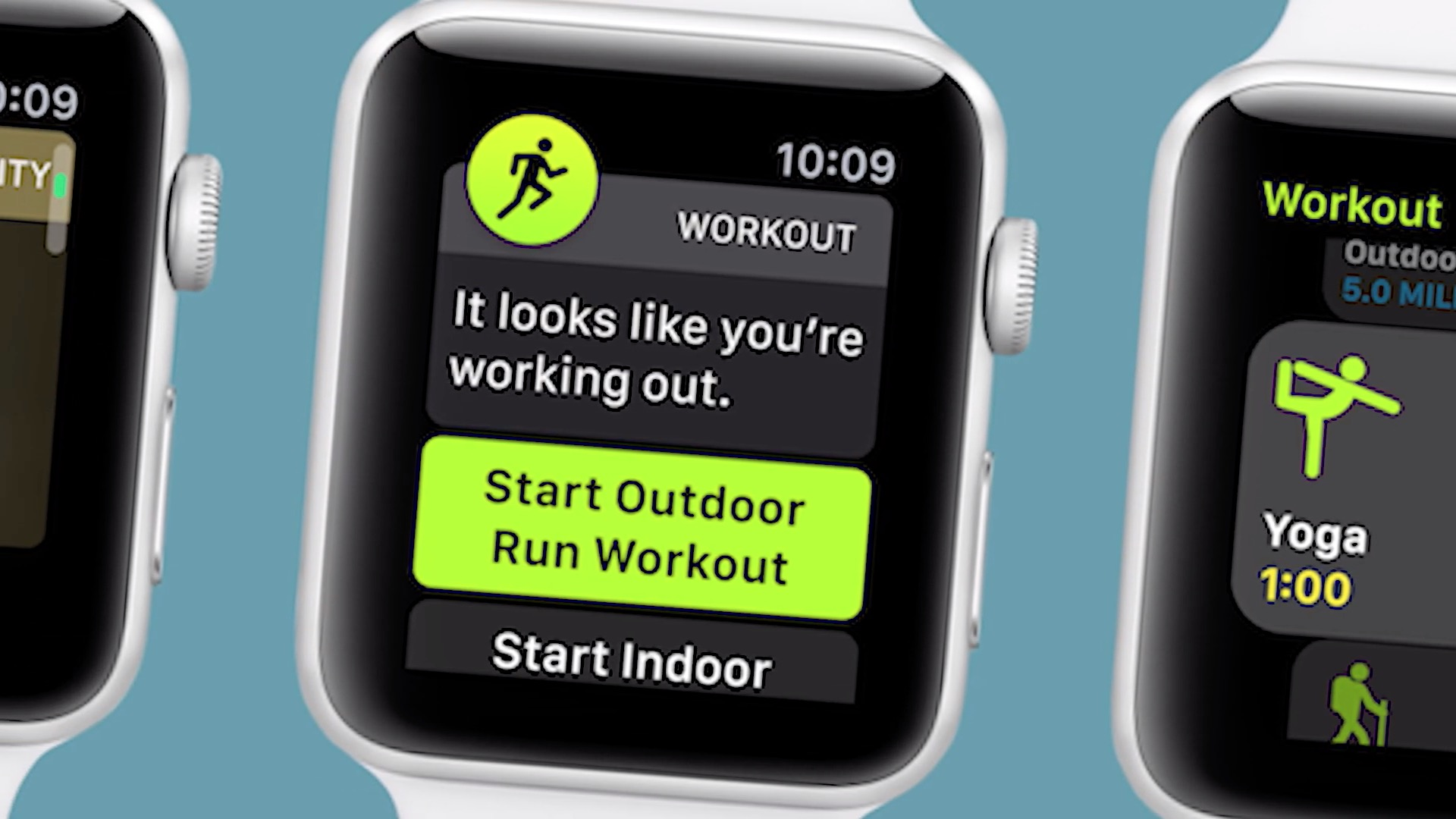 Apple Watch Auto Tracking Workouts