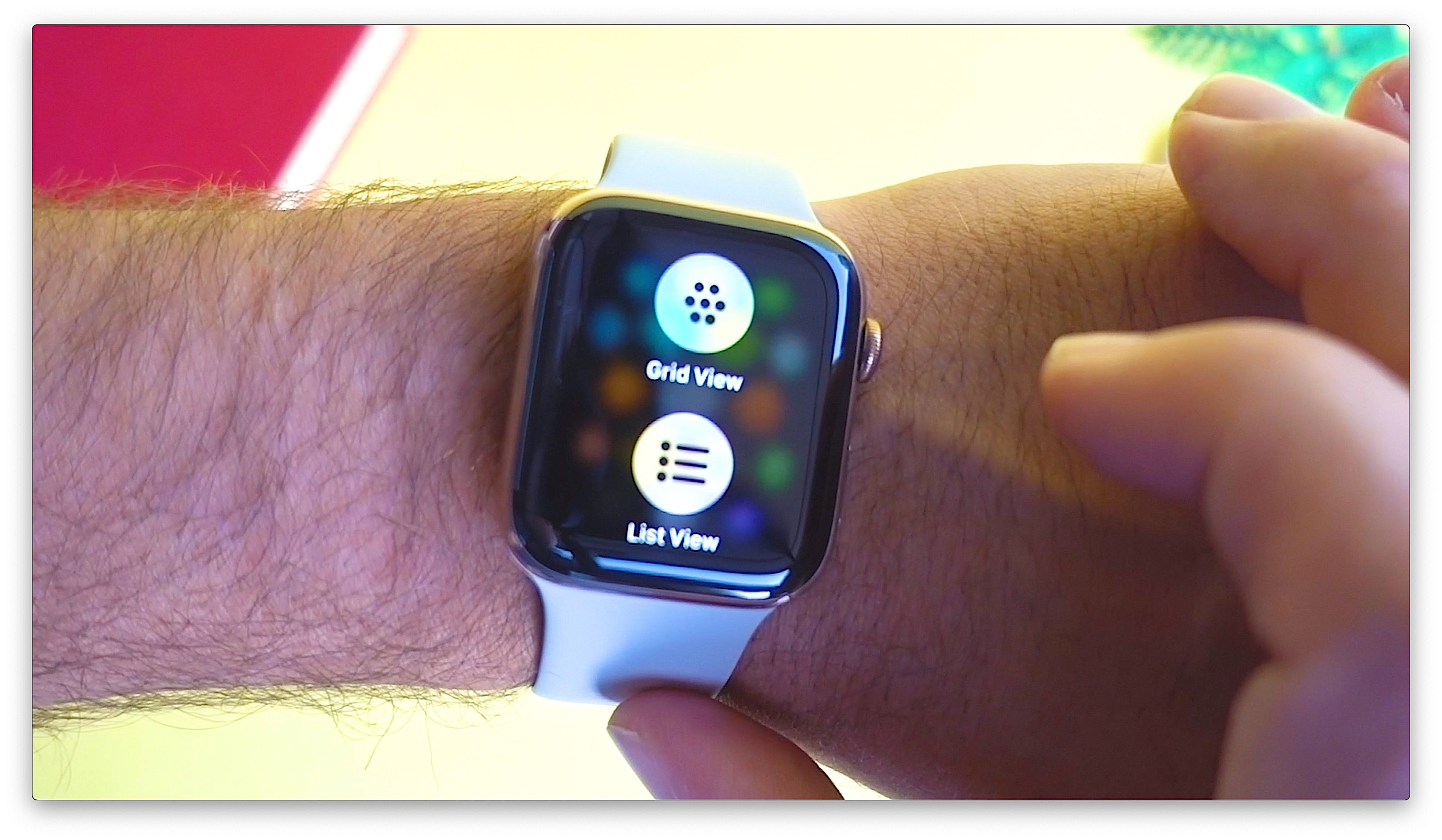 Apple Watch Series 4 List View1