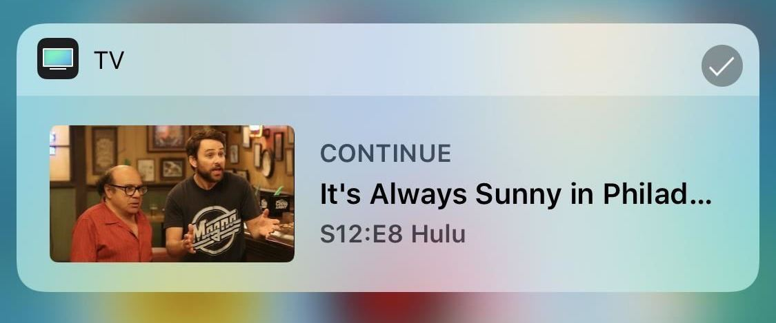 Ios 12 Tv Widget