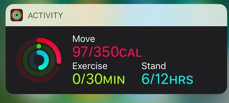 Activity Widget Ios