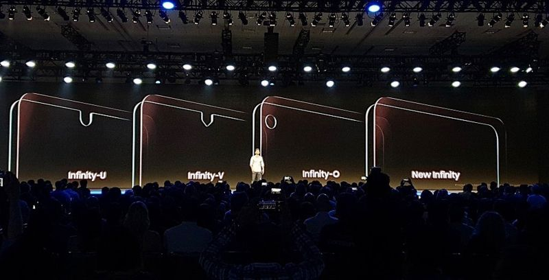 Samsung Unveils New Notched and Infinity Display Designs