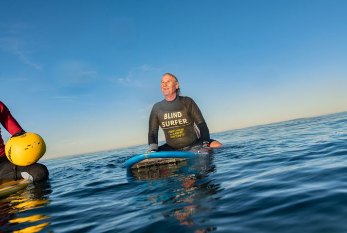 Blind Surfer Lives Independently Thanks to iPhone