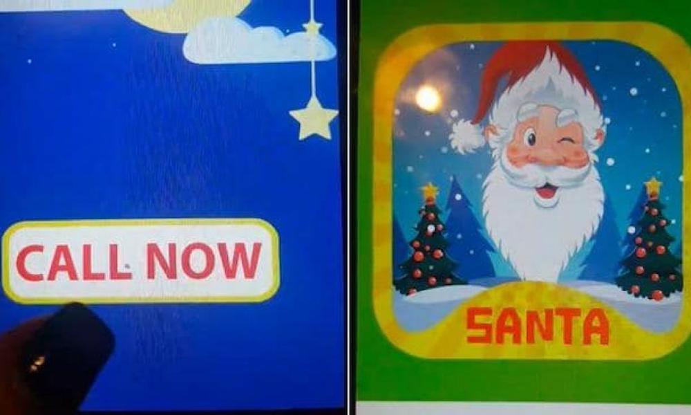 Scary Santa App