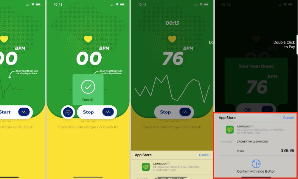 Heart Rate App Scam