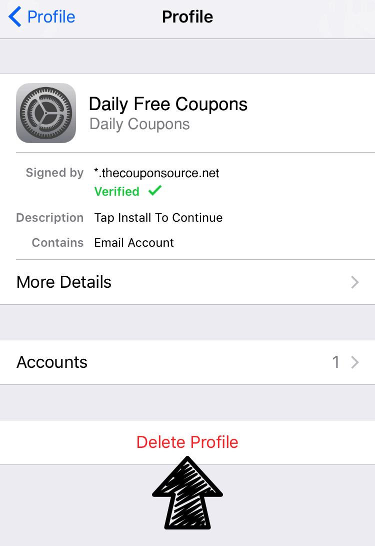 How To Delete Daily Free Coupons