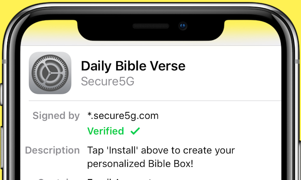 How To Uninstall Daily Bible Verse Daily Free Coupons Mail Box