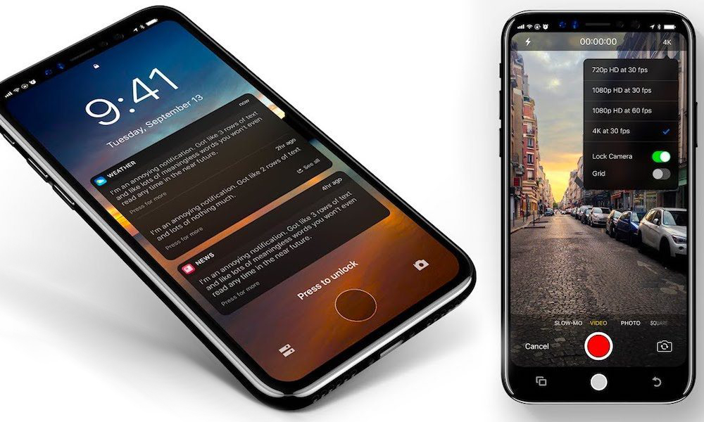 Iphone Touch Id Ios Concept