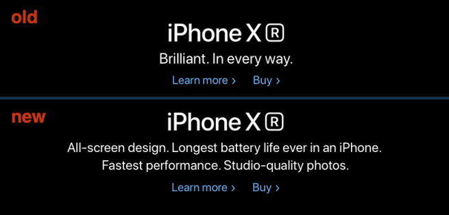 Iphone Xr Homepage