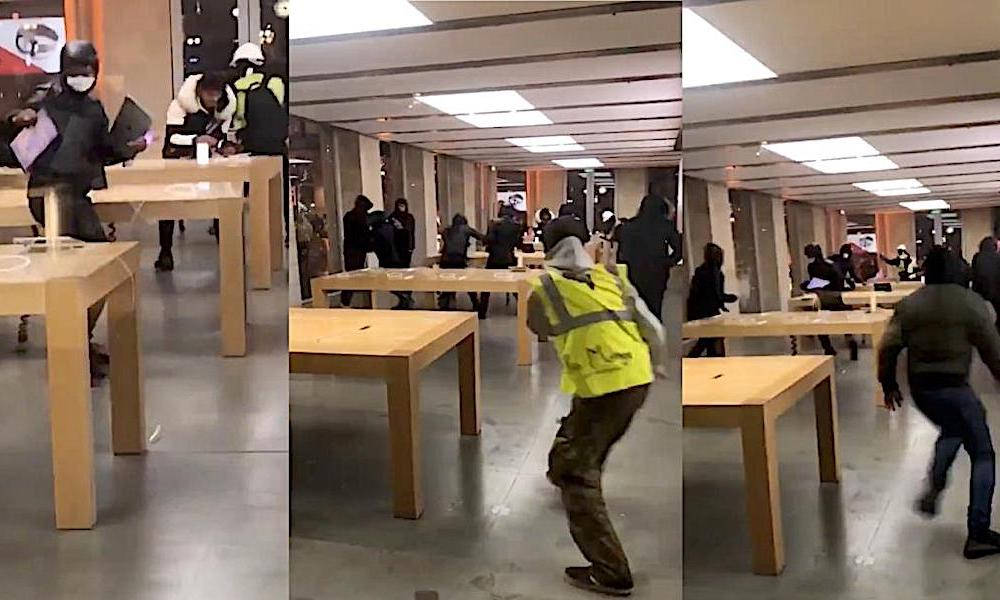 Apple Store Robbery Bordeaux France