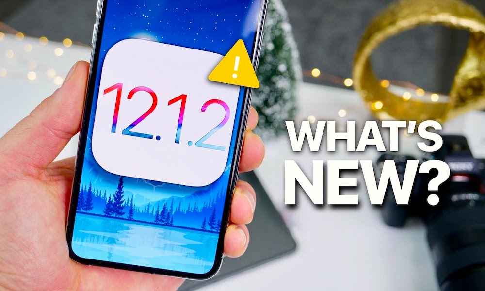 iOS 12.1.2 Public Beta Officially Released