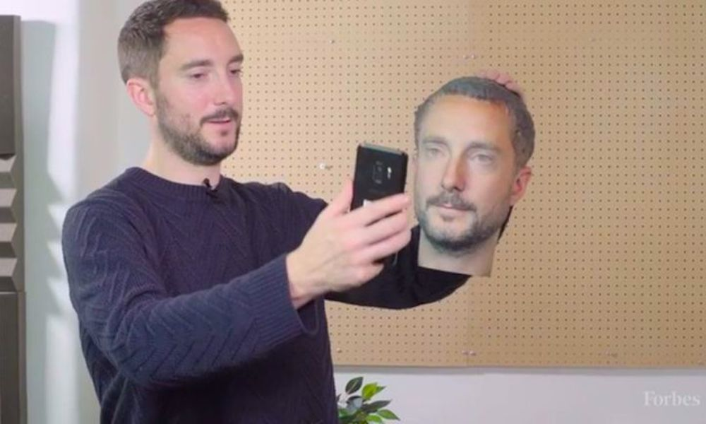 3d Printed Head Face Id Android