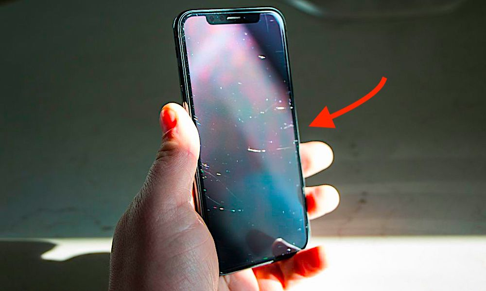 Iphone X Scratches