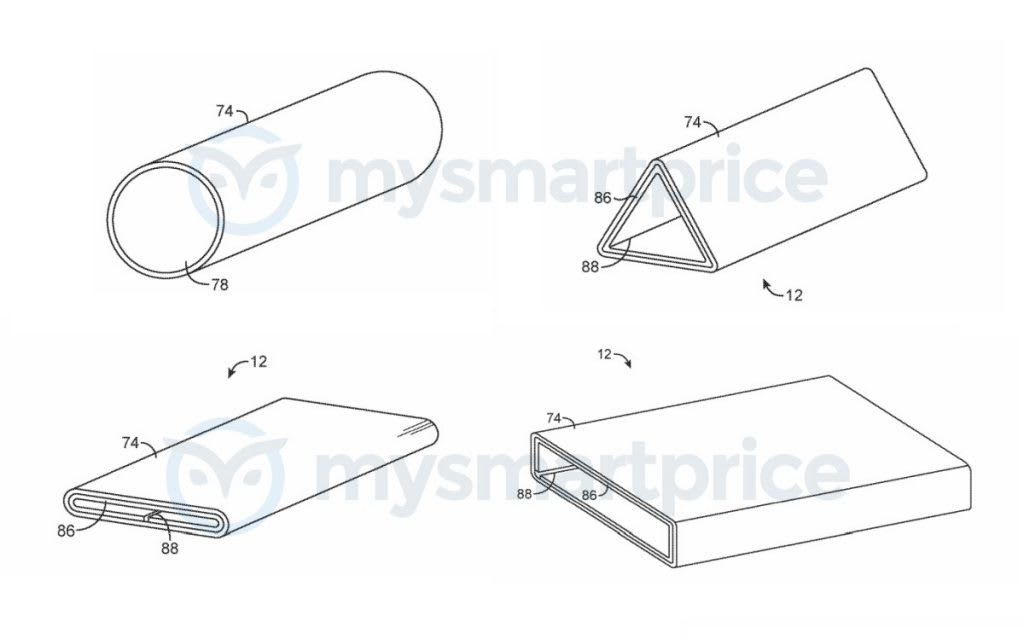 Apple Continously Wrapped Display Patent Designs 1024x640