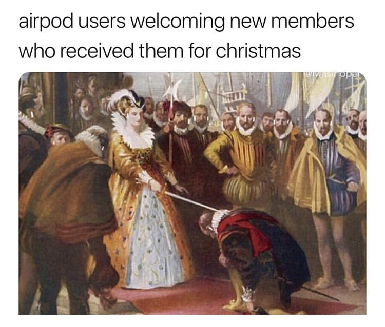 Airpods Social Class Memejpg