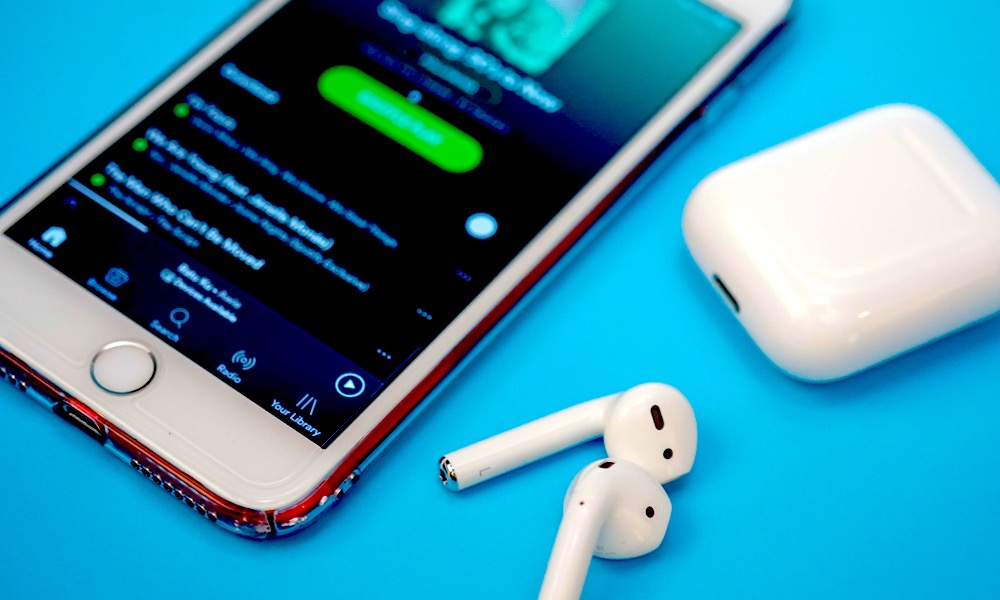 Airpods Iphone Spotify