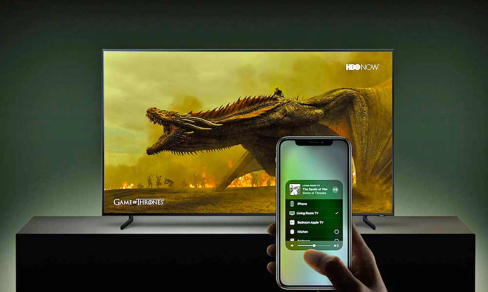 Apple Airplay 2 Samsung