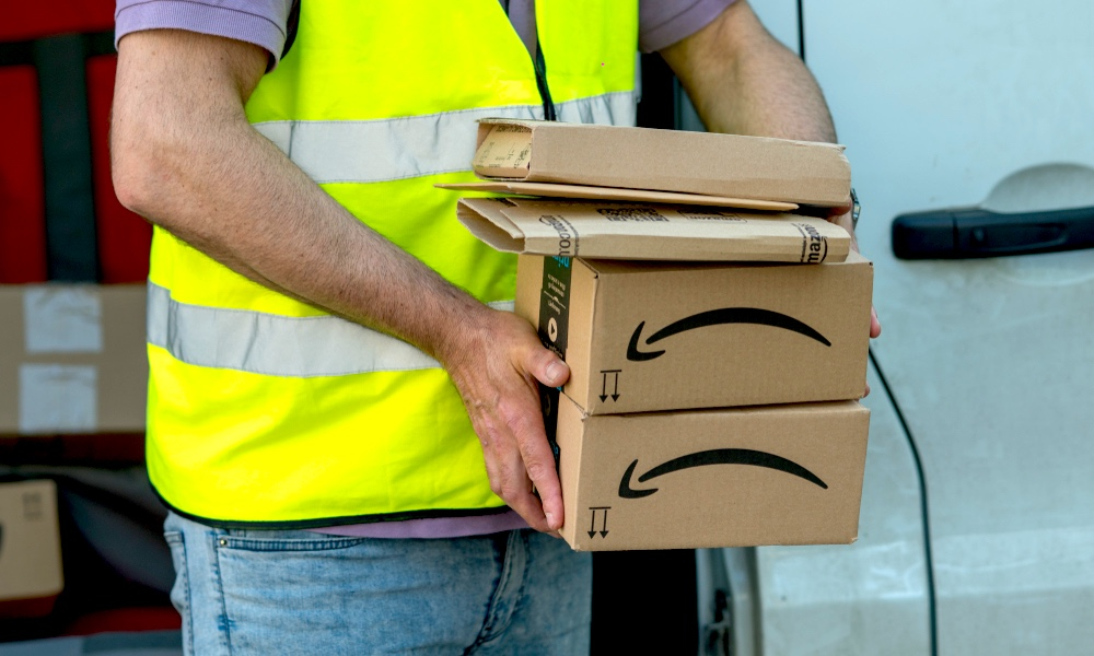 Amazon Packages Deliveries
