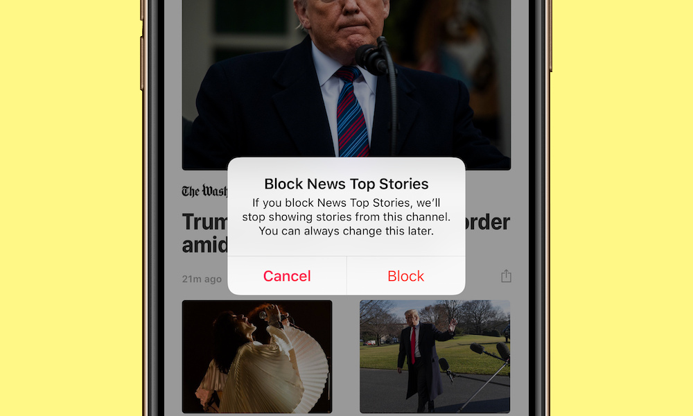 How To Block Political News On Iphone