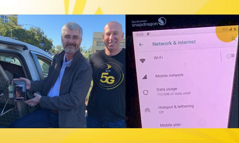 Sprint Successfully Completes World's First 5G Phone Call