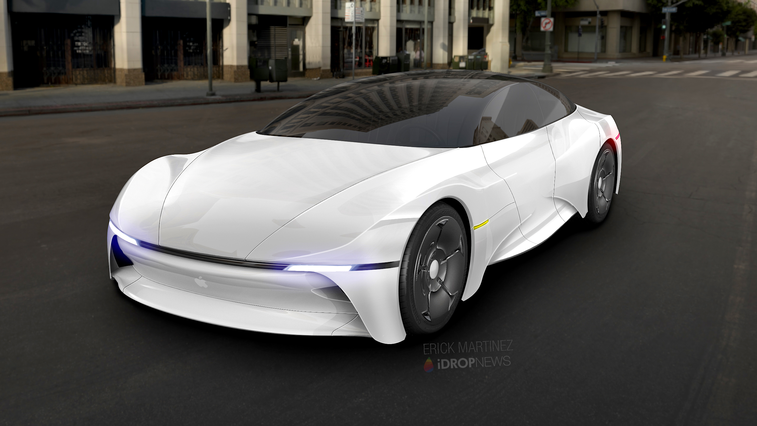 Apple Car Concept Renders iDrop News 2