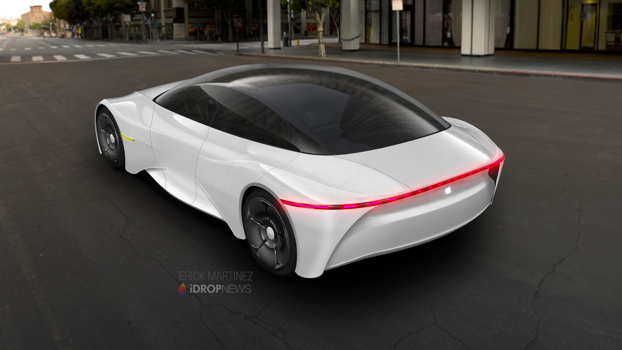 Apple Car Concept Renders iDrop News 1