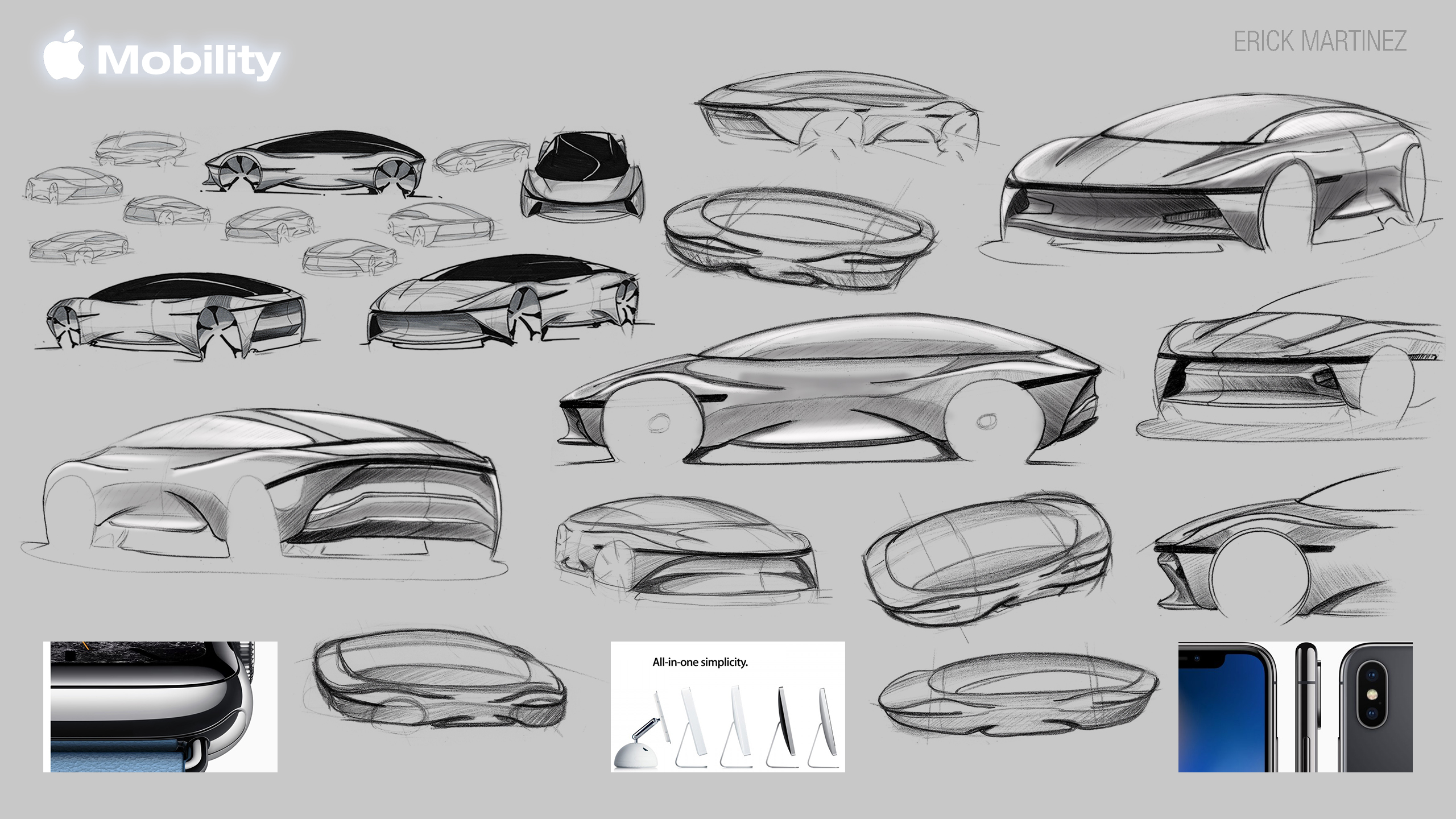 Apple Car Concept Development