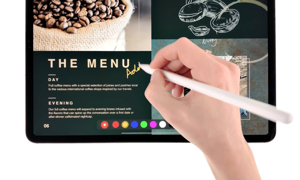 Apple highlights creative tasks on iPad Pro with new video series