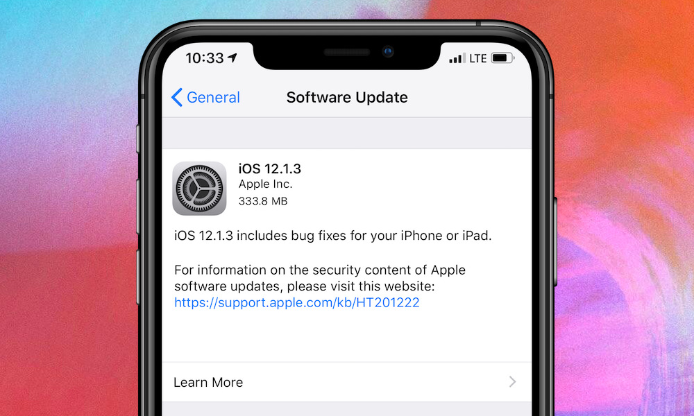 Apple Officially Releases iOS 12.1.3 with These iPhone, iPad and HomePod Bug Fixes