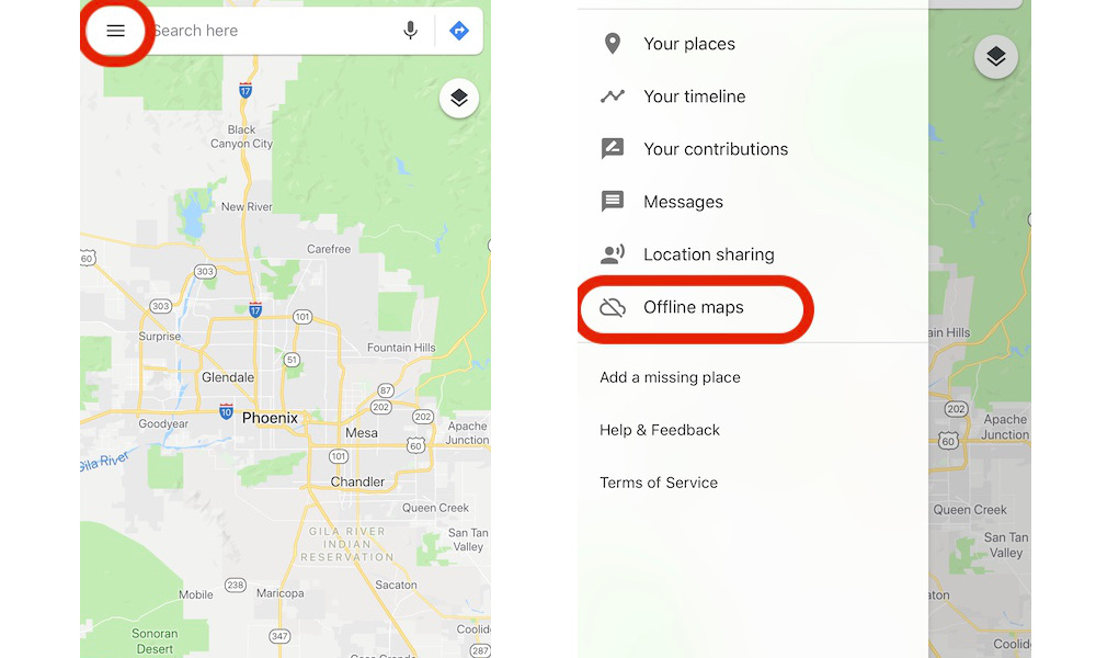 How To Download Offline Maps Google Maps