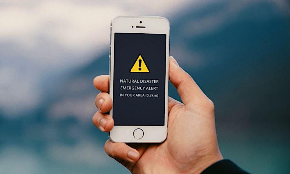 Iphone Natural Disaster And Emergency Tools