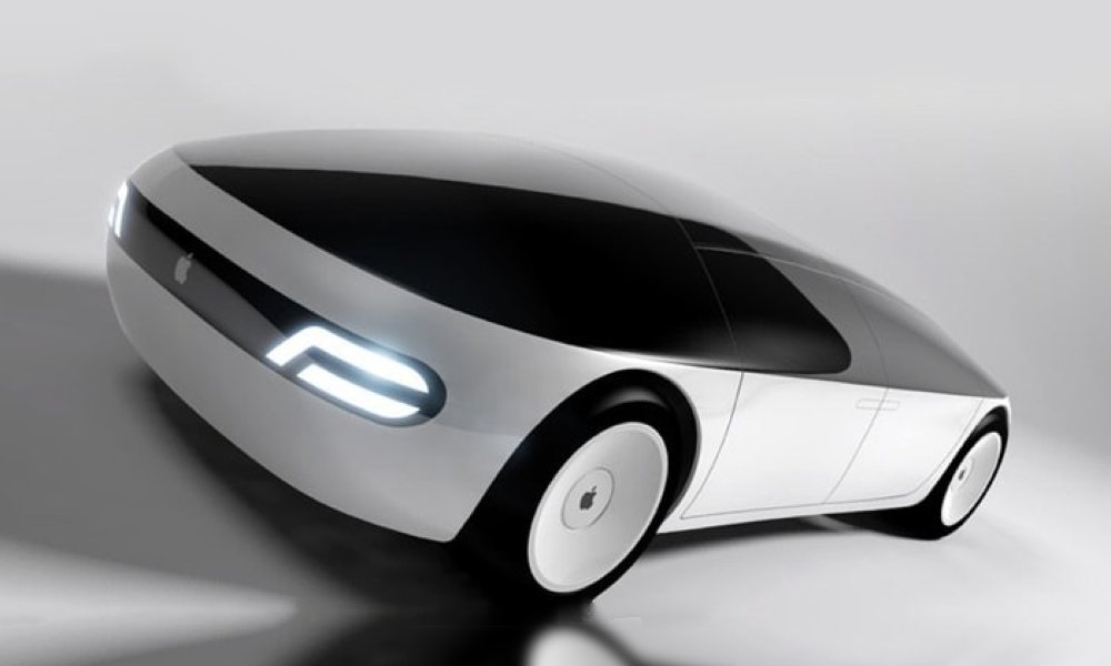 Apple Car Concept Drawing