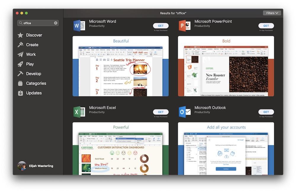 Microsoft Office App Store