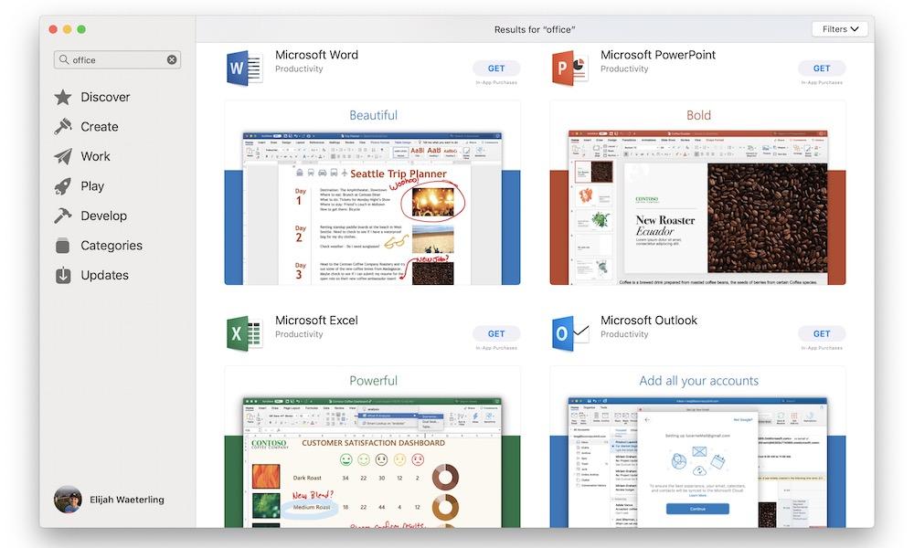 Microsoft Office Macos