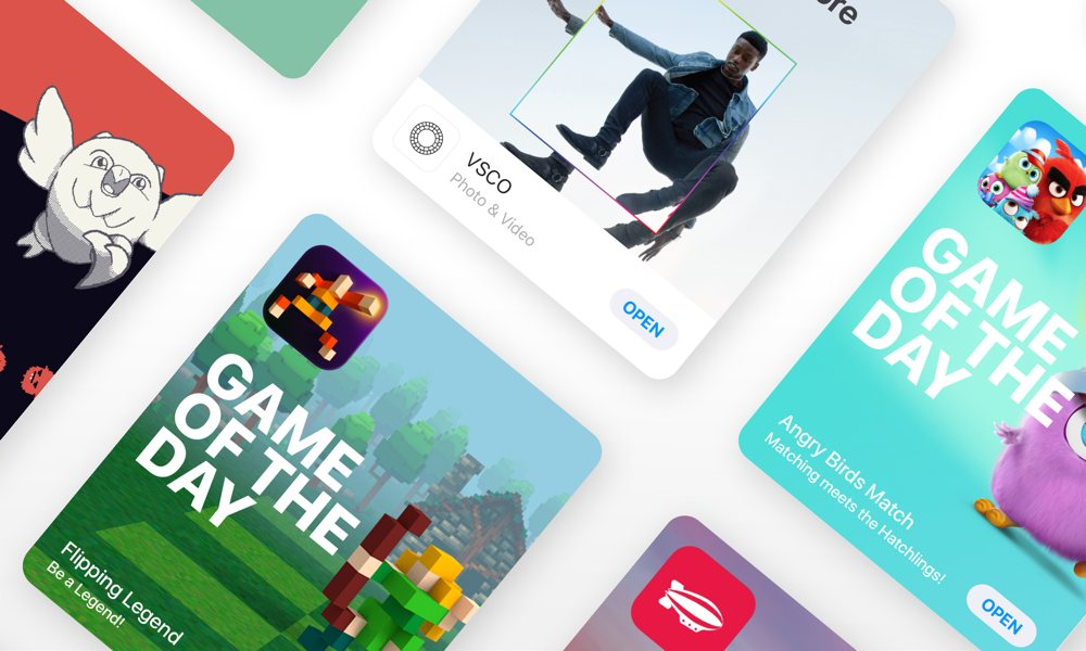 Apple App Store Banner Game Of The Day