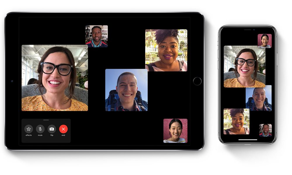 Apple Group Facetime Ipad Iphone