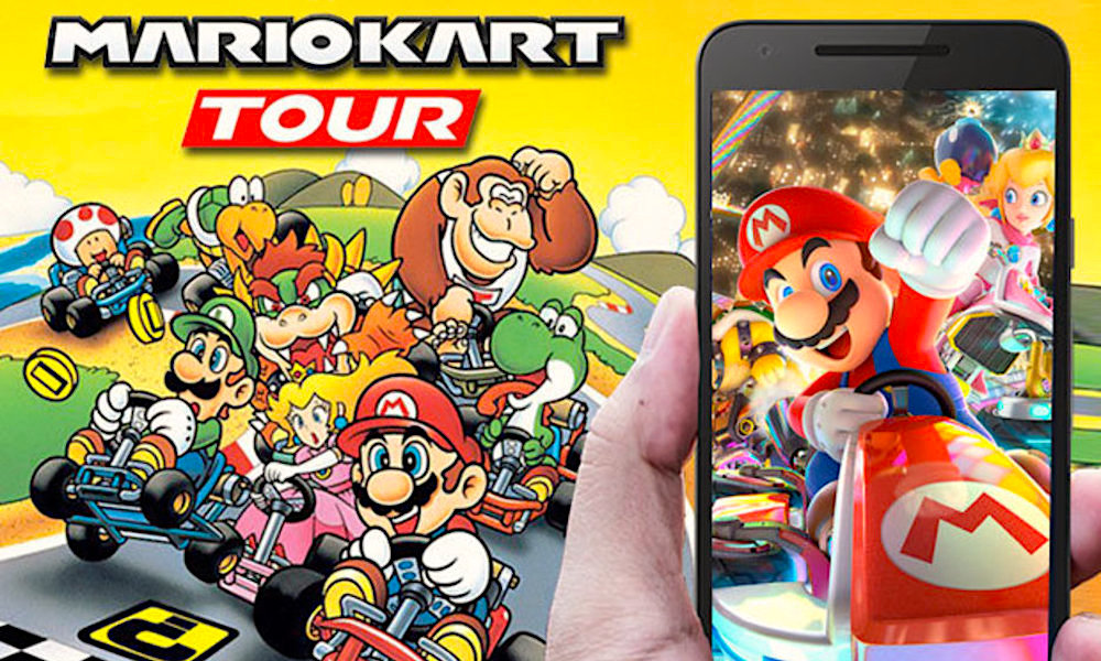 Mario Kart Tour For Iphone And Ipad