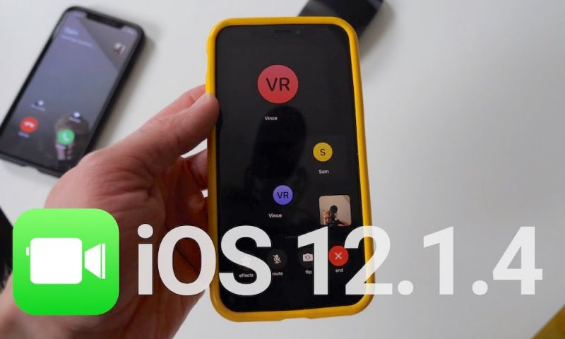 Apple Officially Releases iOS 12.1.4 with Fix for Group FaceTime Spy Bug