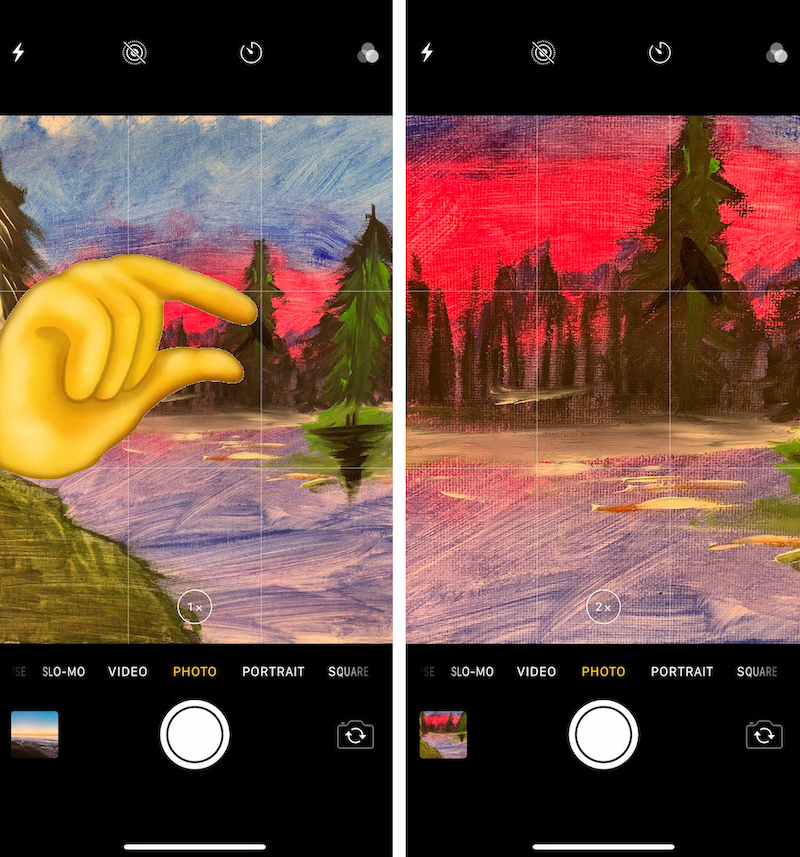Do You Know All Three Ways to Zoom Using Your iPhone's Camera?