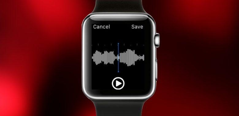 Apple Watch Recording