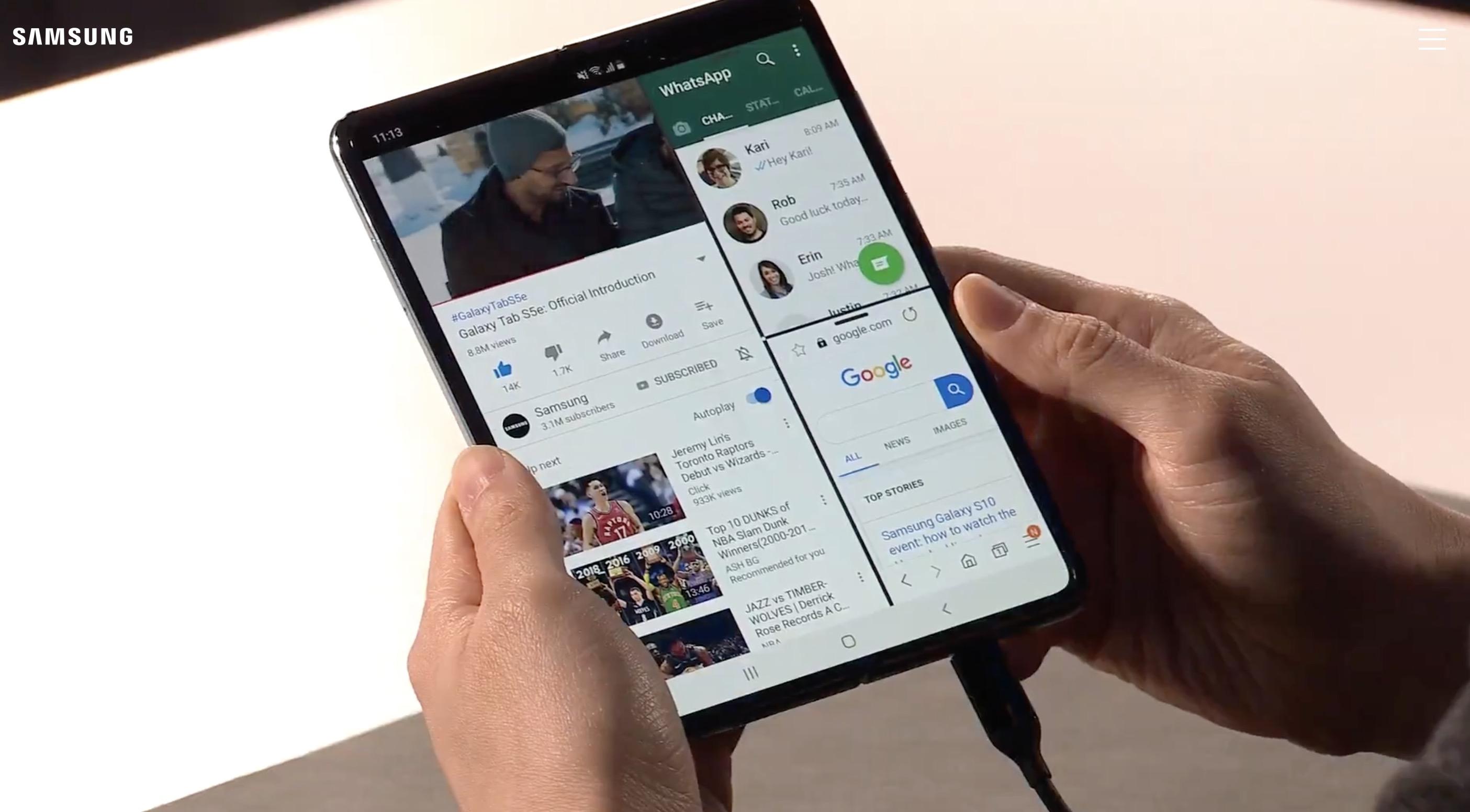 Samsung Galaxy Fold 9