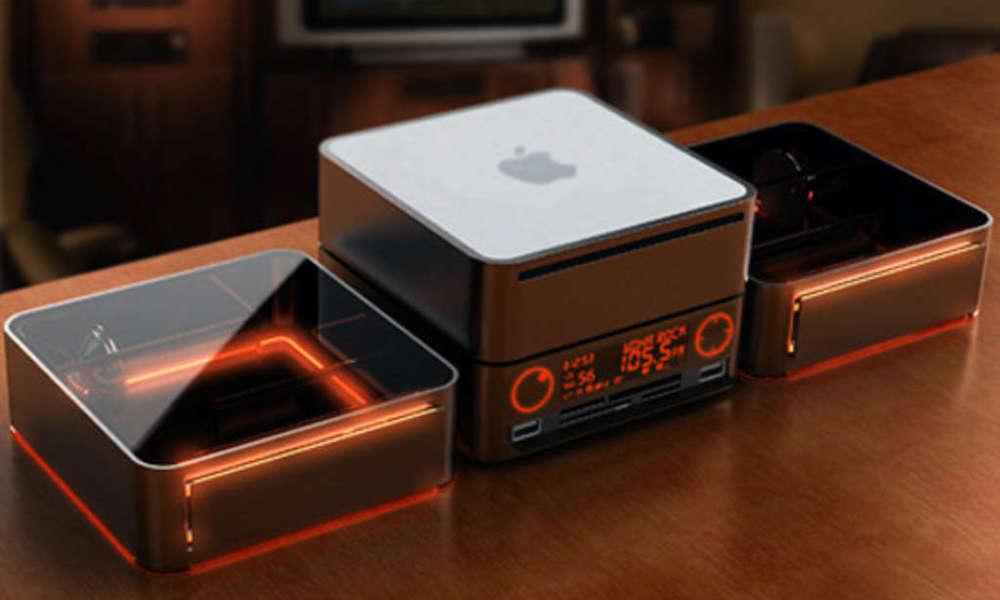 Stackable Mac Mini Concept