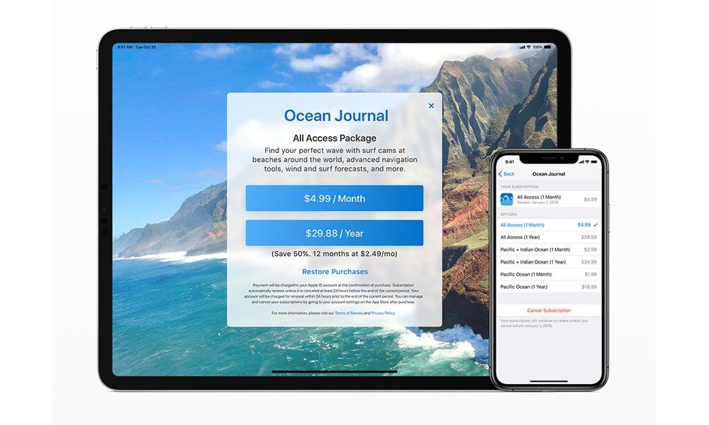 Apple Developers Auto Renewable Subscriptions