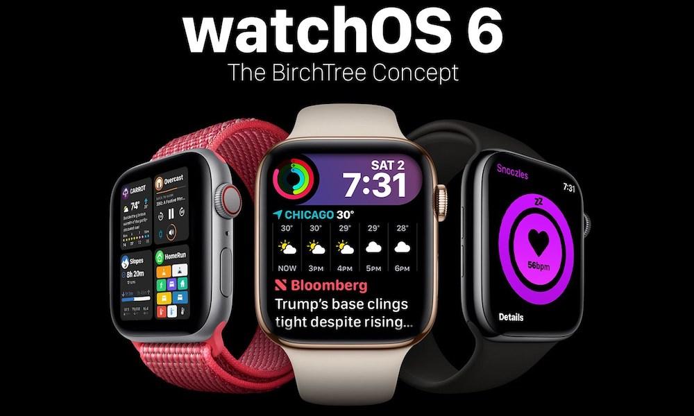 Watchos 6 Concept