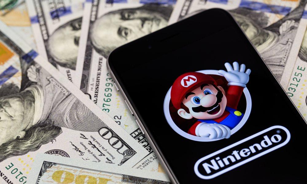 iPhone Nintendo Super Mario Run Pile Of Money
