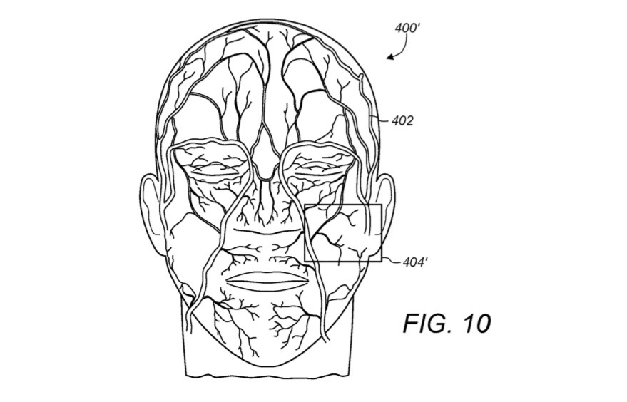 Apple Vein Scanning Tech Patent