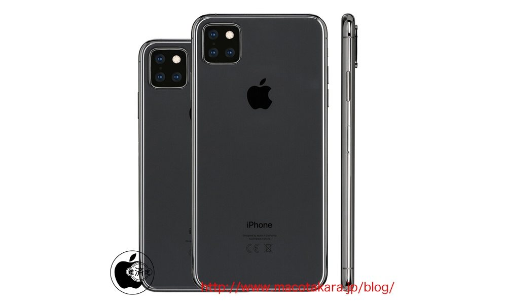 Mac Otakara Triple Lens Iphone Render
