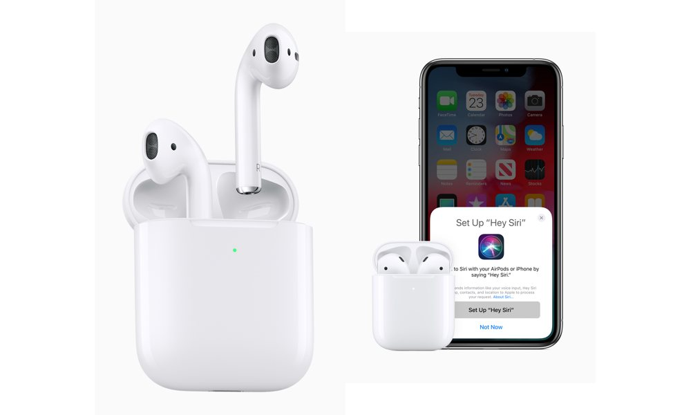 Apple Second Gen Airpods With Hey Siri Setup On Iphone