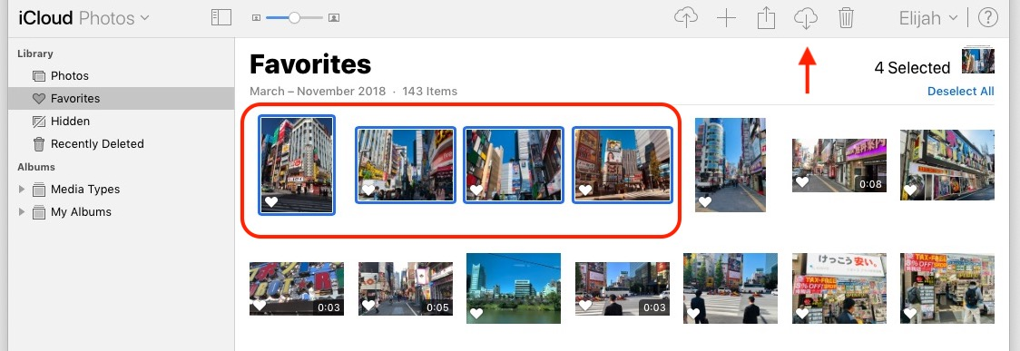 How To Download Multiple Photos On Icloud