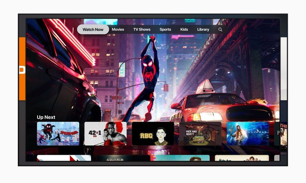 Apple Tv App Spiderverse 032519