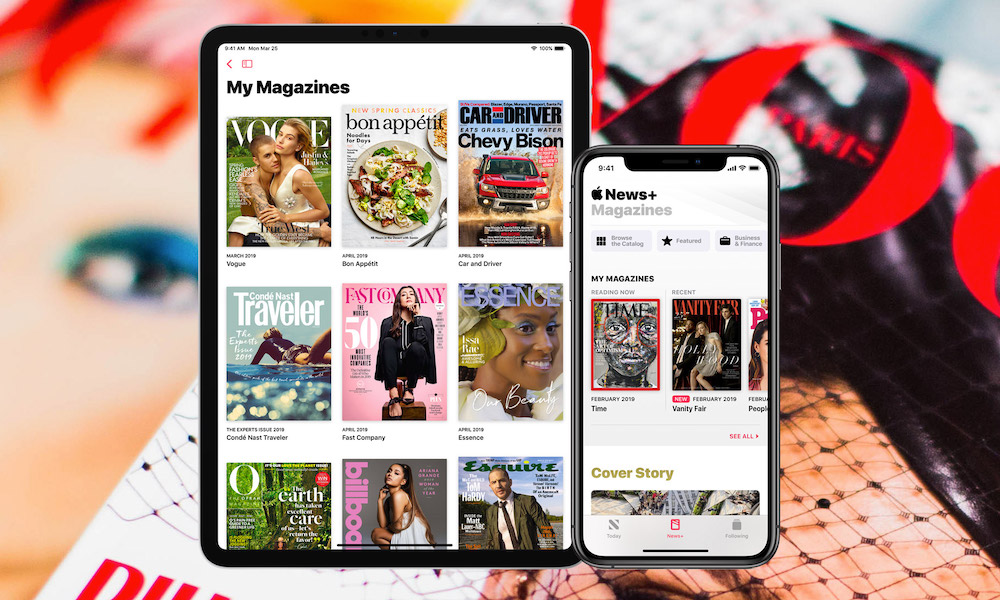 All Of The Magazines Included In Apple News